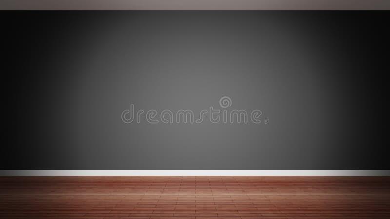 Room interior vector illustration