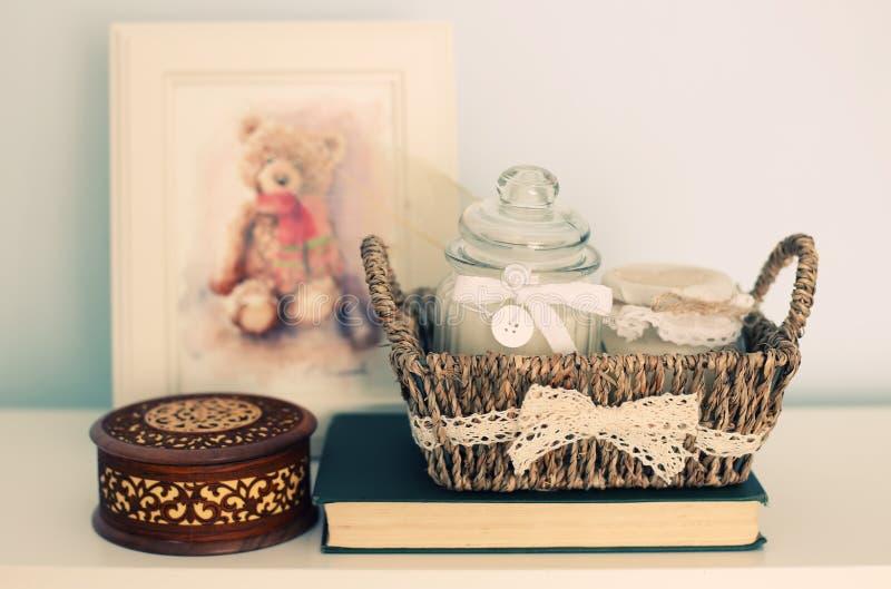 Room interior stock image