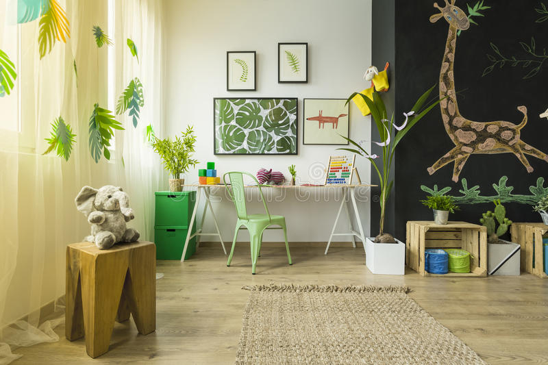 Room for kids stock images