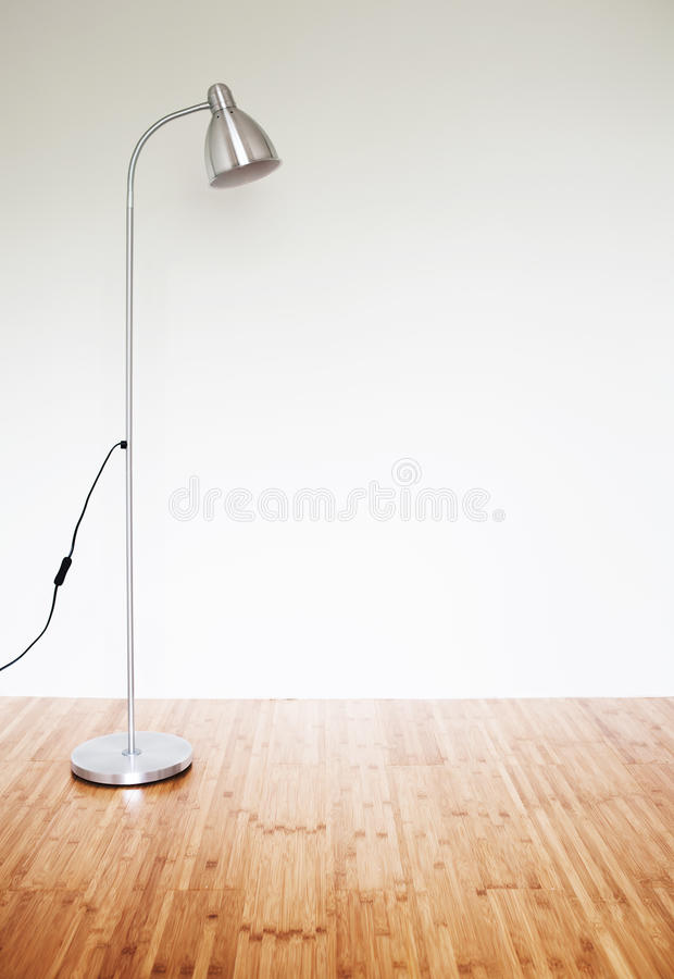 Room with modern floor lamp