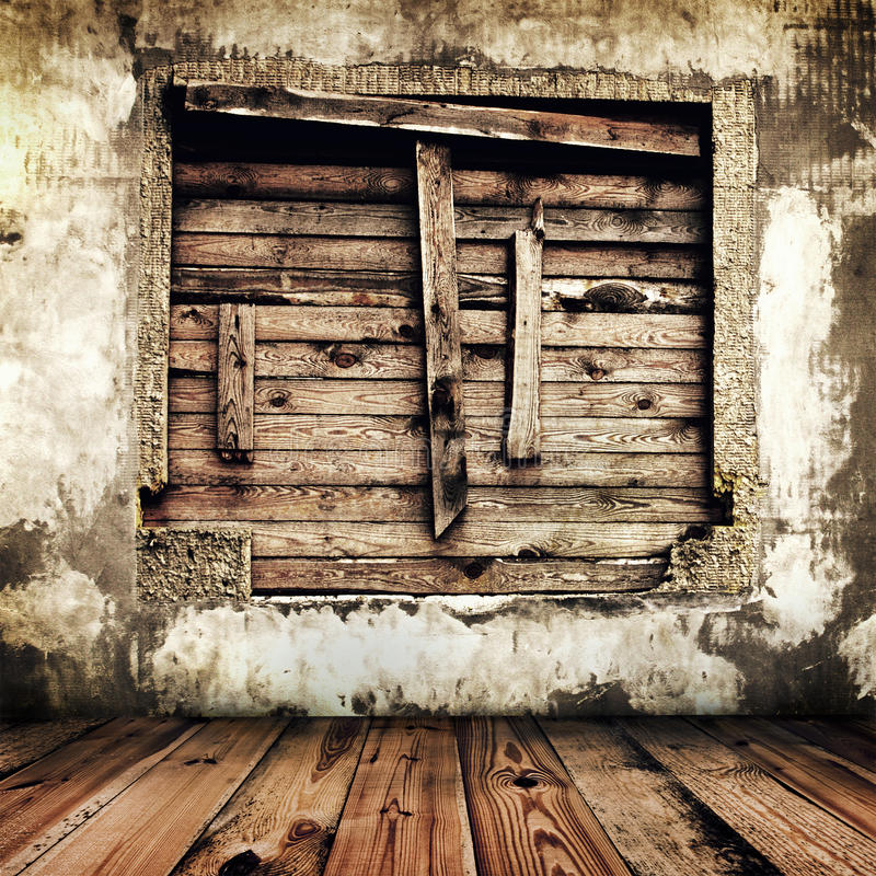 Download Room in an old house stock image. Image of concept, dirty - 15240075