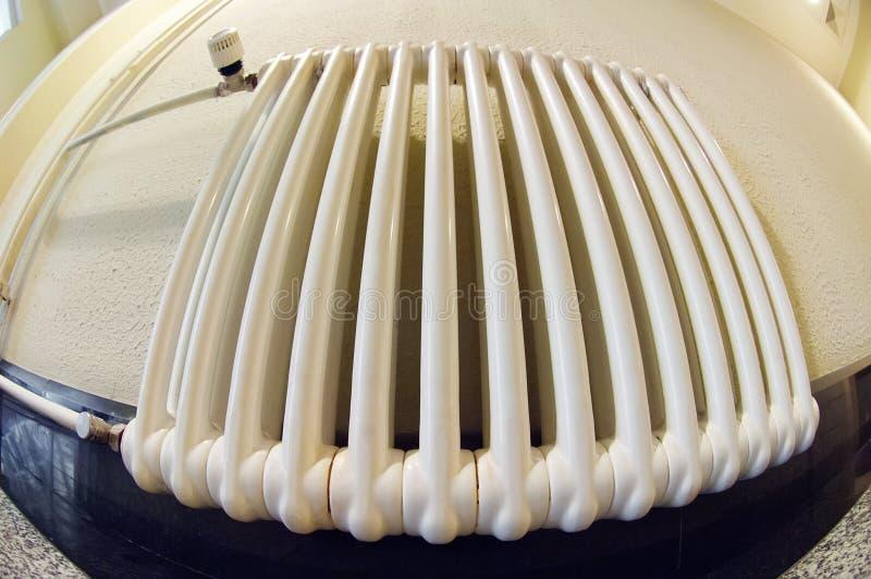 Room radiator stock image
