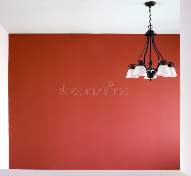 Download Room With A Red Wall Royalty Free Stock Photos - Image: 18613618