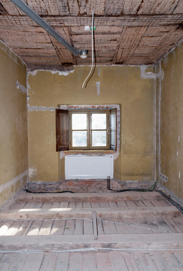 Download Room Repair House Construction Stock Image - Image: 33464245
