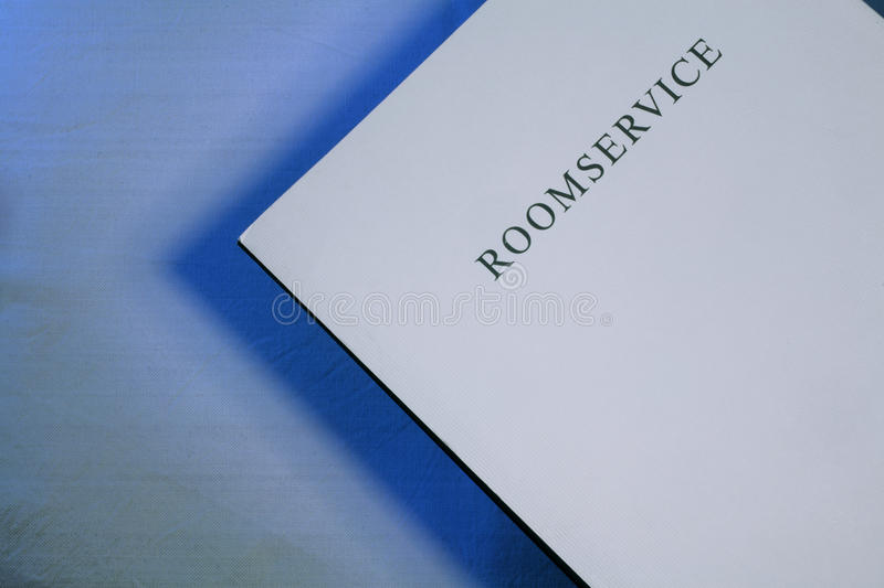 Download Room Service Menu Royalty Free Stock Photography - Image: 22451957