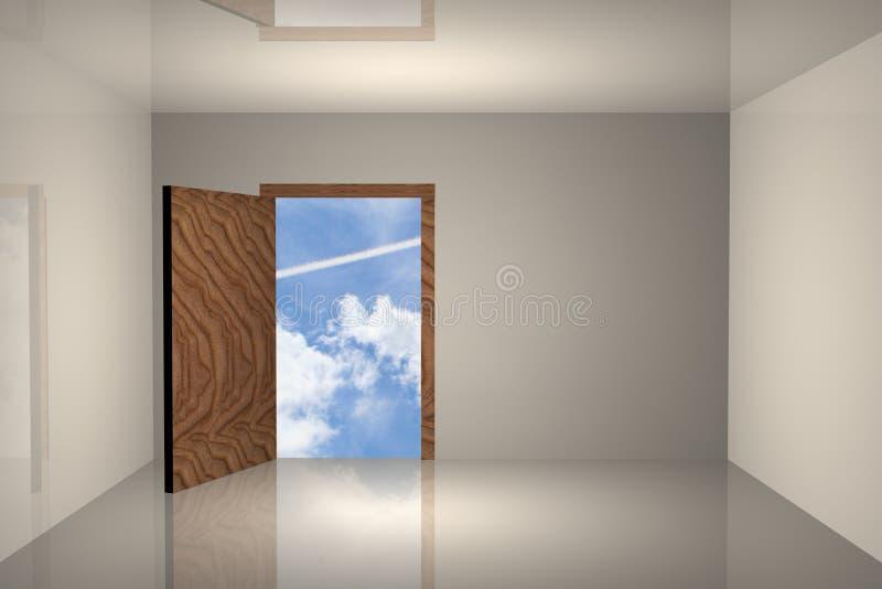 Room sky stock photo