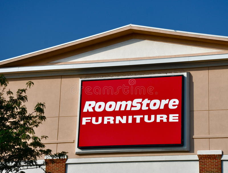 Room store furniture sign editorial photography image for Room store furniture