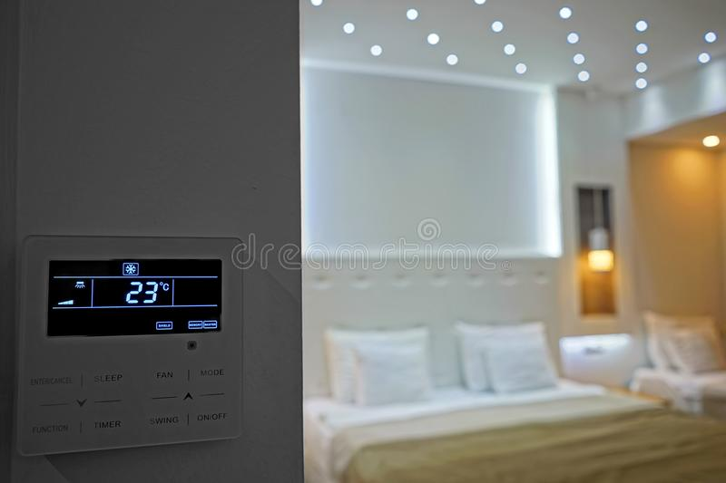 Room temperature stock image