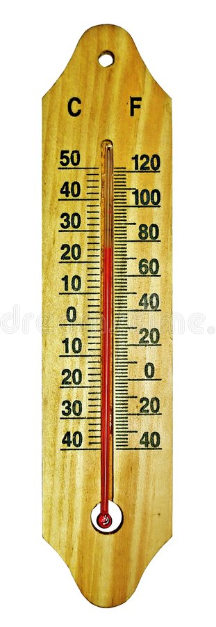 Room Thermometer Royalty Free Stock Images