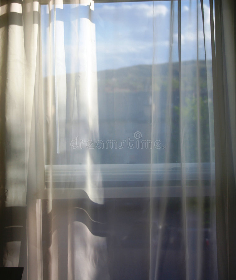 Room with a view royalty free stock image