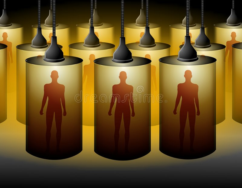 Download The Room Where They Clone Humans Stock Illustration - Image: 4702719