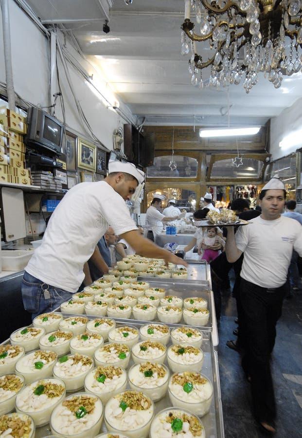 Download Roomijsverkopers in Aleppo redactionele afbeelding. Afbeelding bestaande uit dessert - 39106475