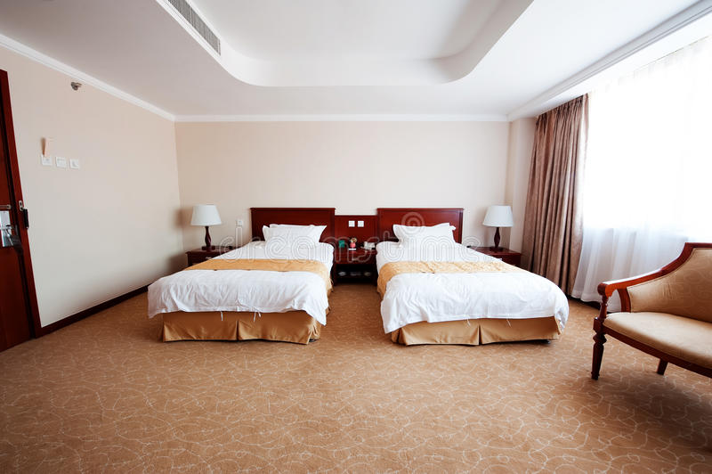 Rooms. Beijing hotel rooms Picture was taken in March 2011 royalty free stock photography