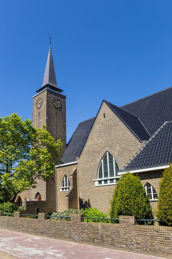 Rooms-katholieke kerk in de historische stad van Hasselt royalty-vrije stock afbeeldingen