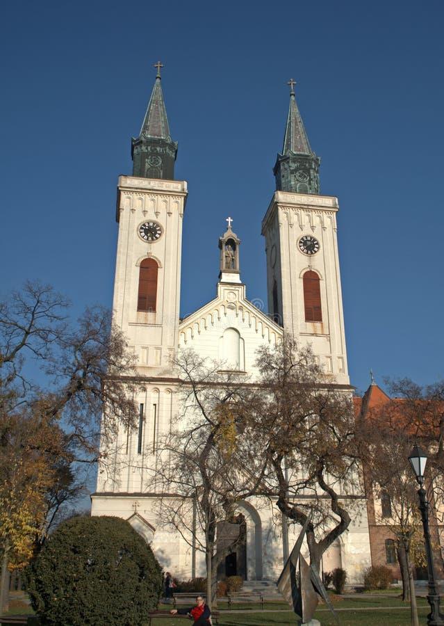 Rooms-katholieke kerk, Sombor, Servië royalty-vrije stock fotografie