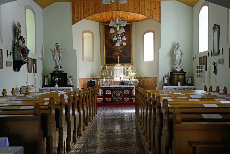 Rooms-katholieke kerk, Toszeg, Hongarije royalty-vrije stock afbeeldingen