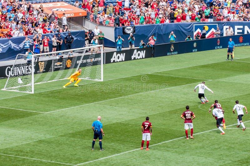 Rooney bierze karę obrazy royalty free