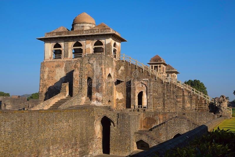 Roopmati Mahal, Mandu, Madhya Pradesh, India immagine stock