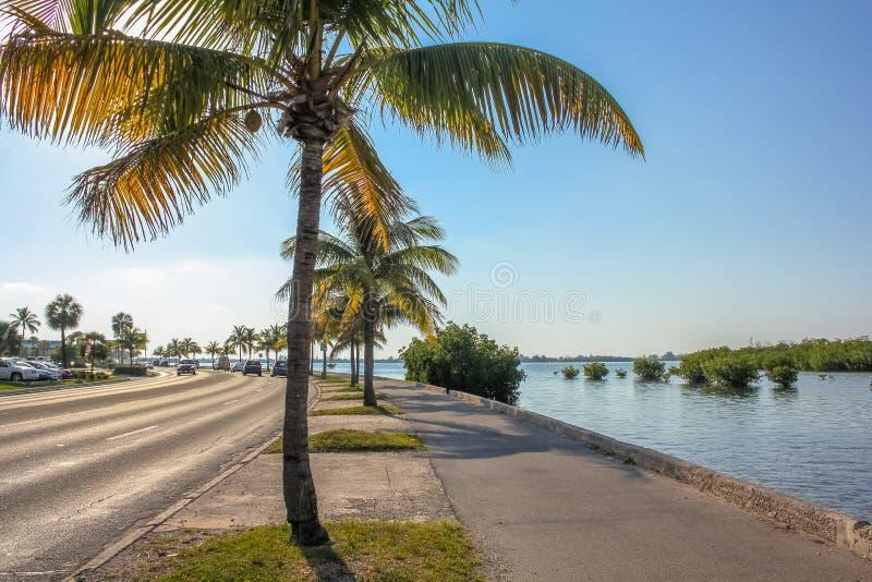 Roosevelt Blvd Key West lizenzfreies stockbild