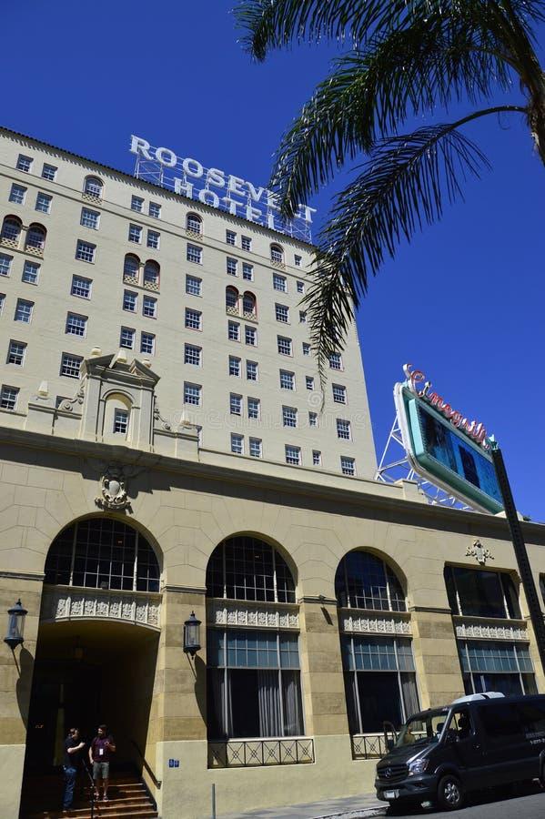Roosevelt Hotel fotografia de stock