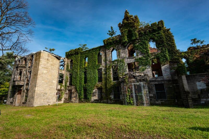 Roosevelt Island, New York fotografia stock libera da diritti