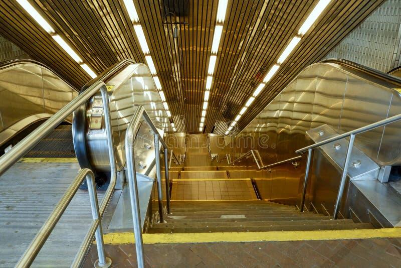 Roosevelt Island Subway, New York City -1 stock photo