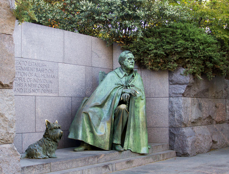 Roosevelt Memorial images libres de droits