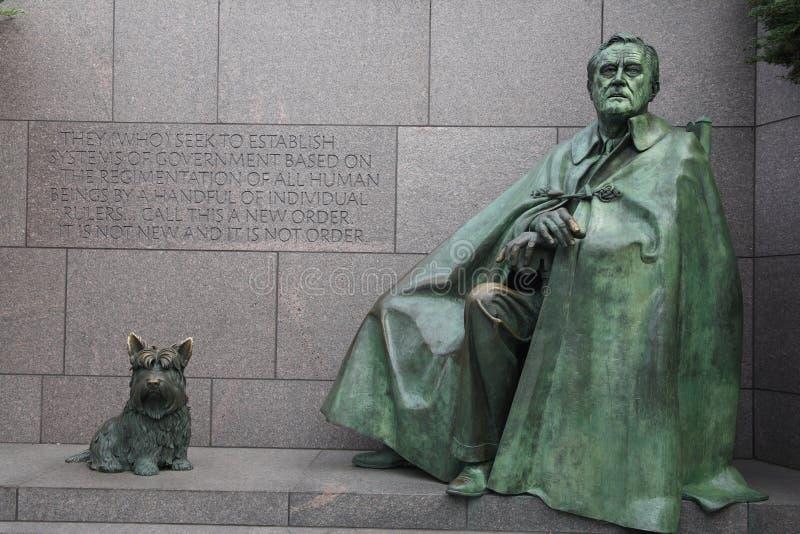 Roosevelt memorial stock photography