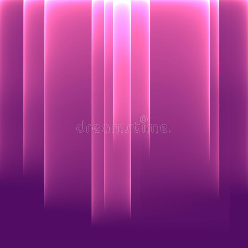 Rooskleurige onduidelijke beelden Heldere roze strepen Geometrisch patroon in roze kleuren royalty-vrije illustratie