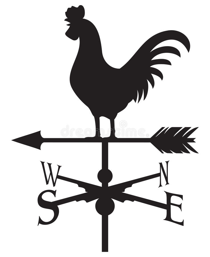 Free Rooster Weather Vane Royalty Free Stock Images - 32290899