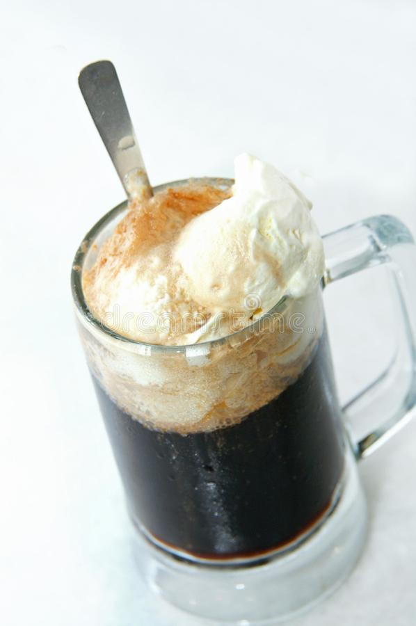 Root-beer With Float stock photos