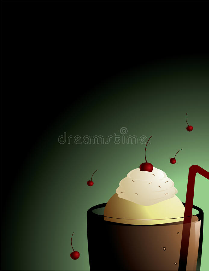 Free Root Beer Float Background Stock Photography - 10386692