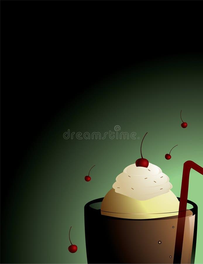Download Root beer float background stock vector. Illustration of copy - 10386692