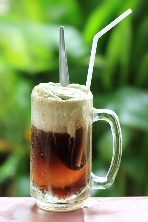 Root beer float stock image