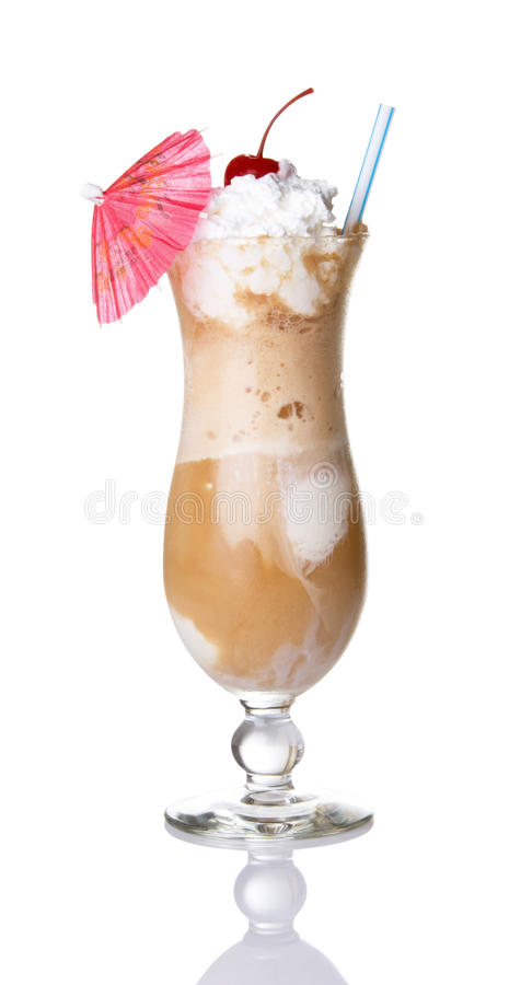 Download Root Beer Float With Umbrella Stock Image - Image: 10566401