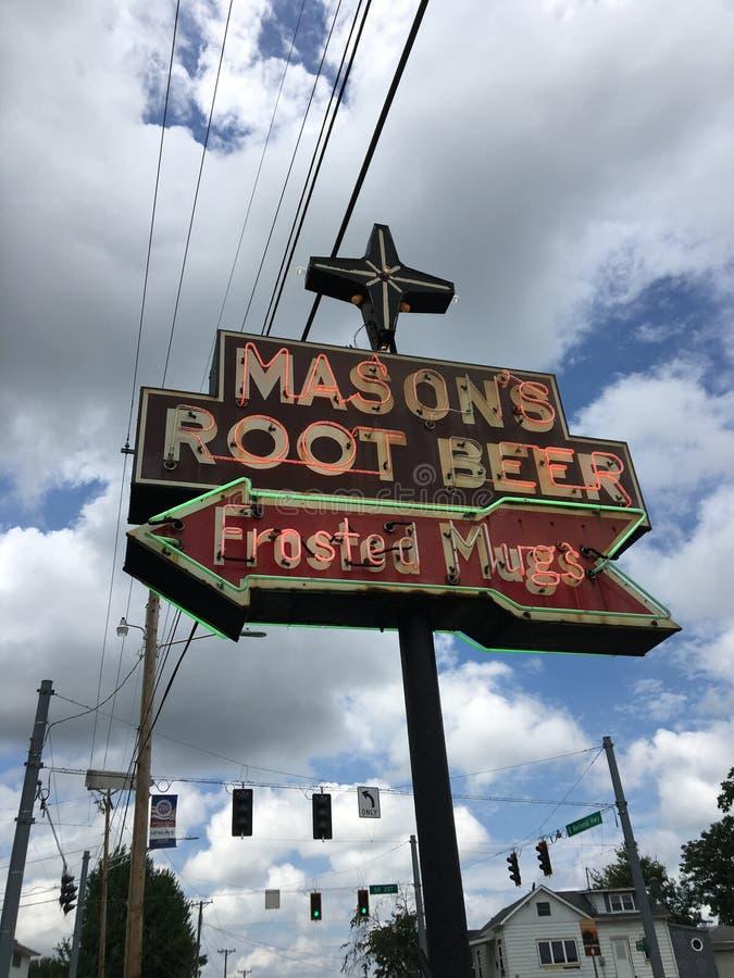 Root Beer lizenzfreie stockfotografie
