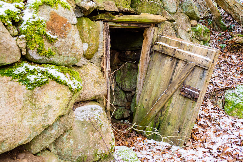 Root Cellar Stock Photo Image Of Cold Open Boulder