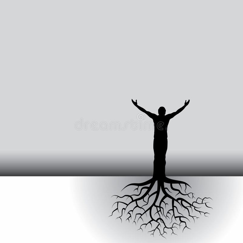 Download Rooted Man Stock Photos - Image: 7572173
