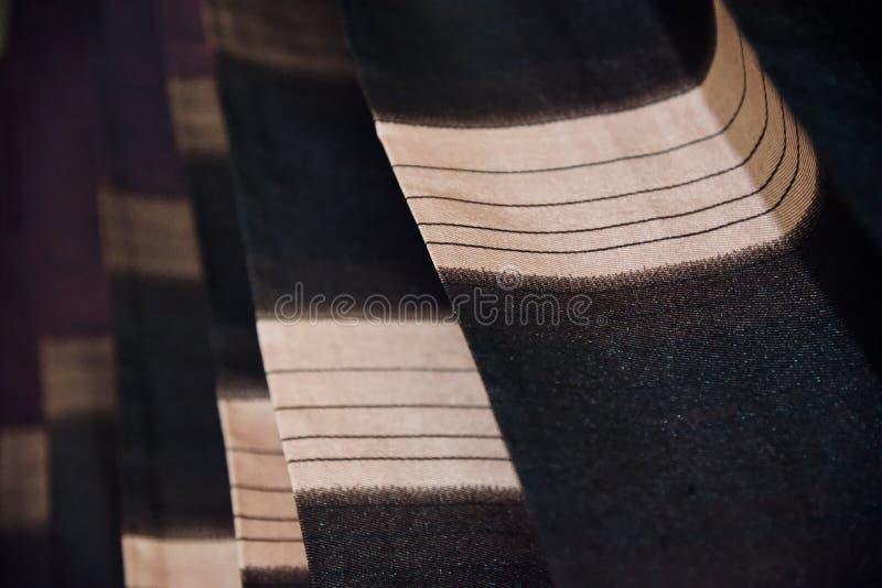 ropa de la cortina con texturas imagen de archivo libre de regalías