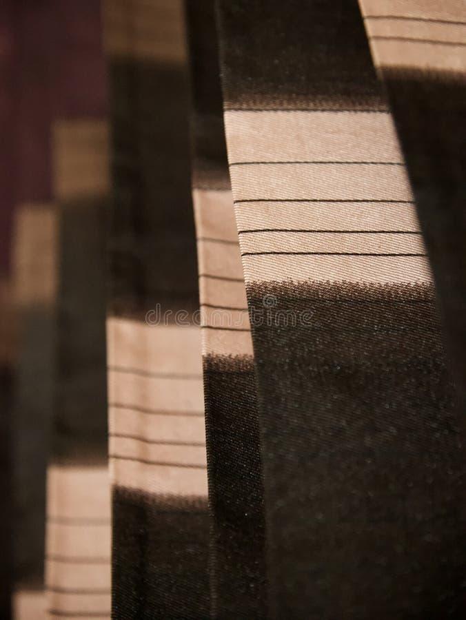 ropa de la cortina con texturas foto de archivo libre de regalías