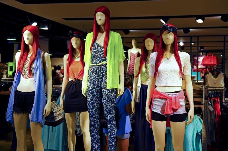 Ropa de la moda del verano de las señoras fotos de archivo libres de regalías