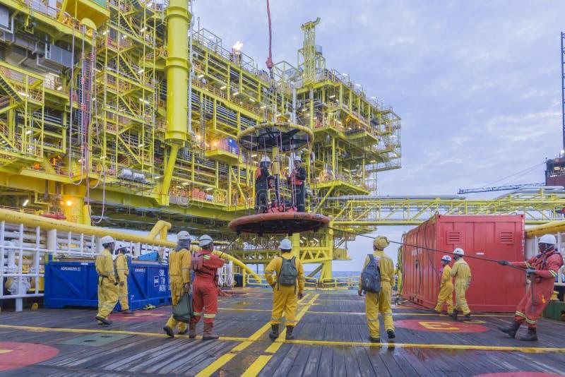 Ropa i gaz przemysłowy obraz stock