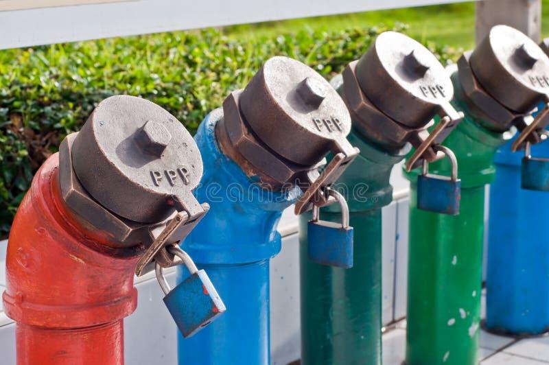 Ropa i gaz rurociąg obrazy royalty free