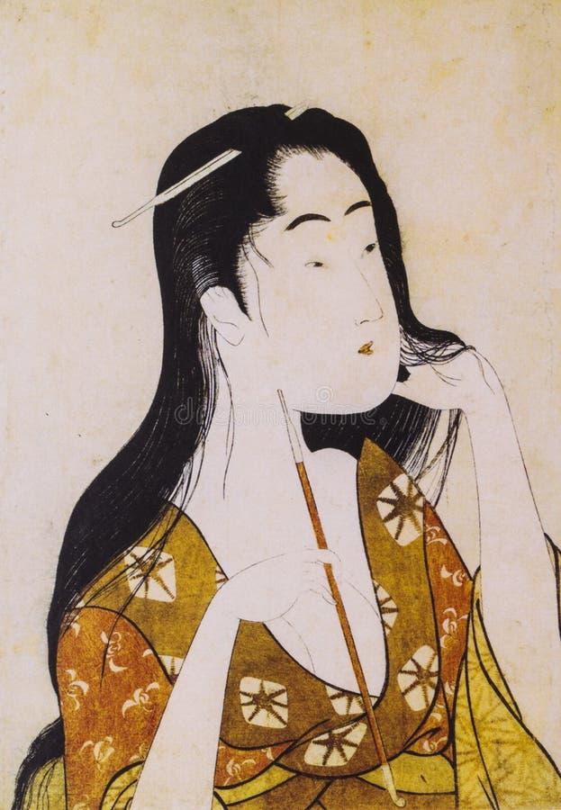 Ropa tradicional japonesa fotos de archivo