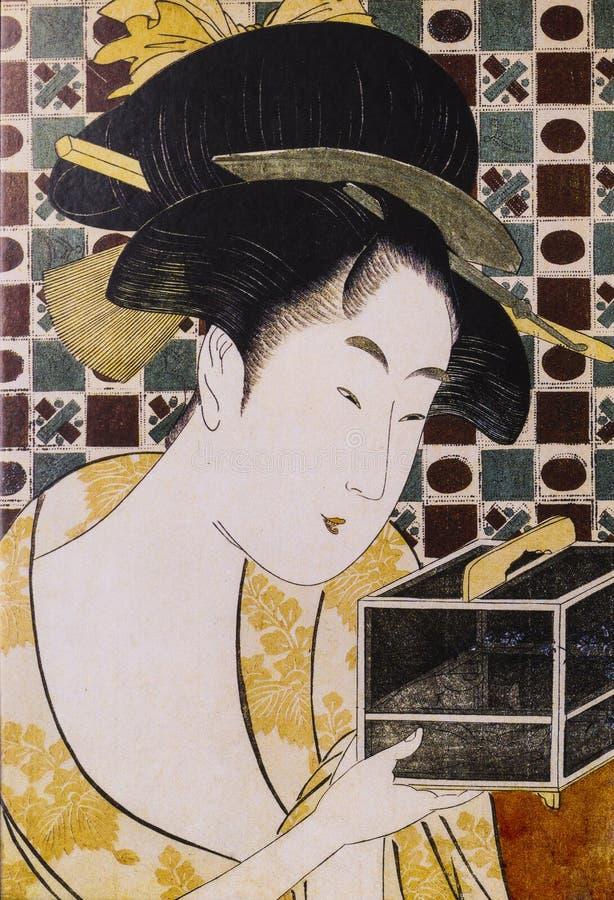 Ropa tradicional japonesa imagenes de archivo