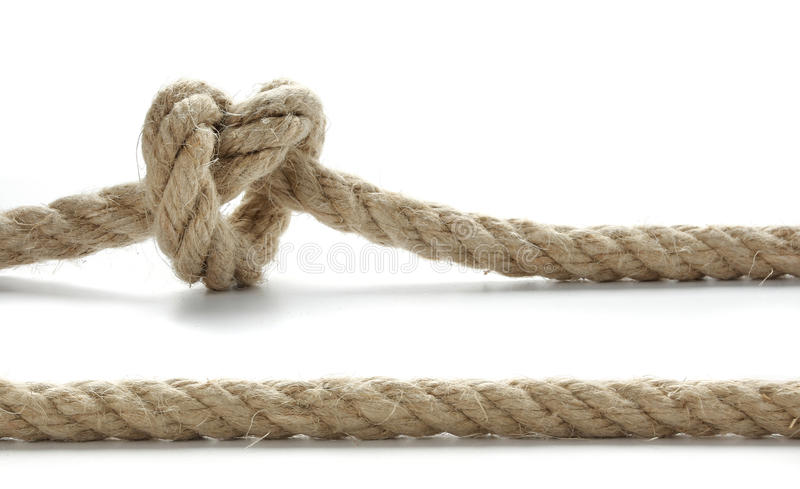 Download Rope stock photo. Image of twist, rope, heart, durable - 14962930