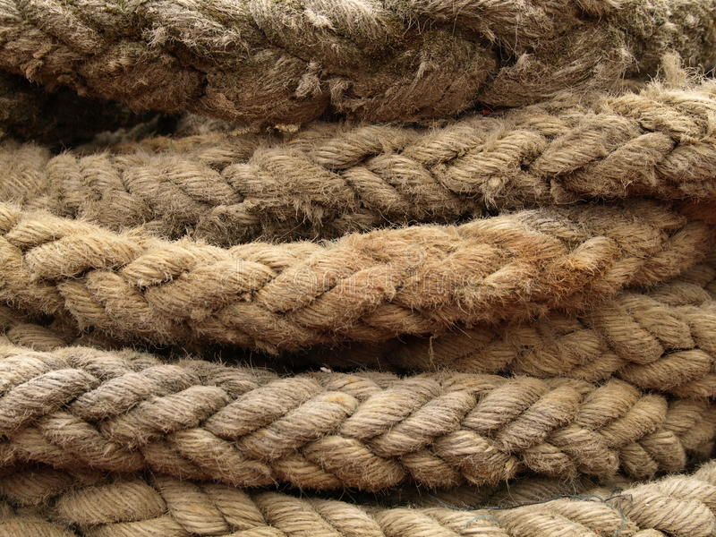 Download Rope stock image. Image of worn, marina, natural, coil - 20708821