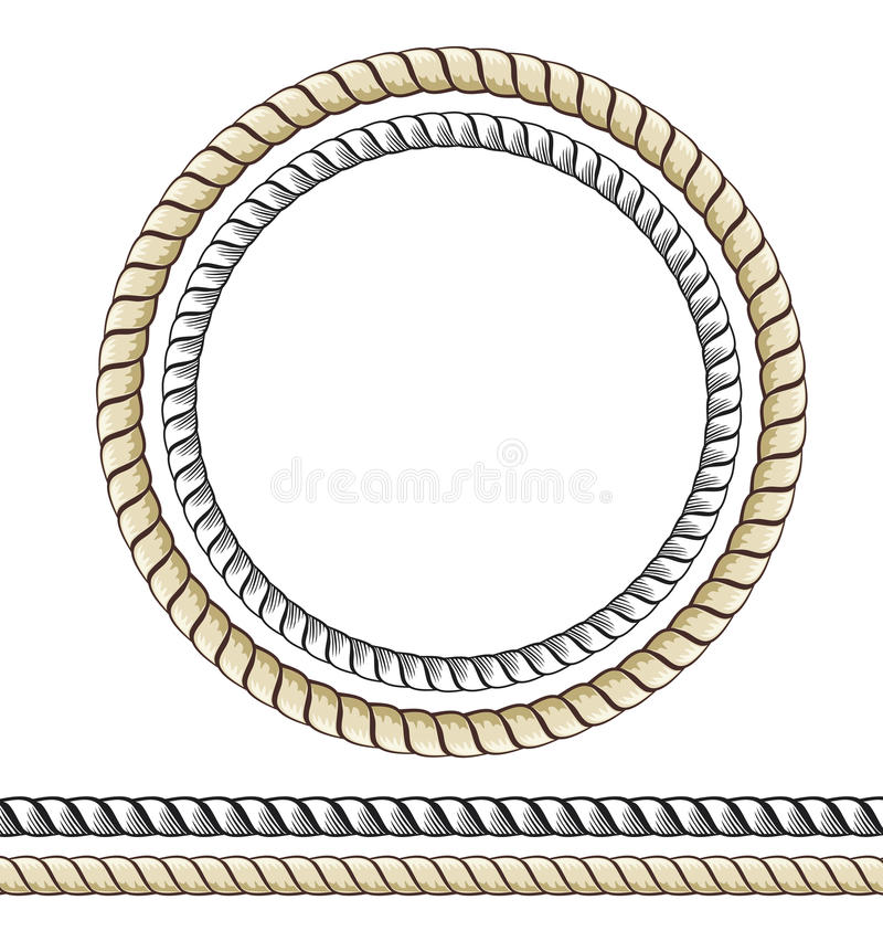 Rope royalty free illustration