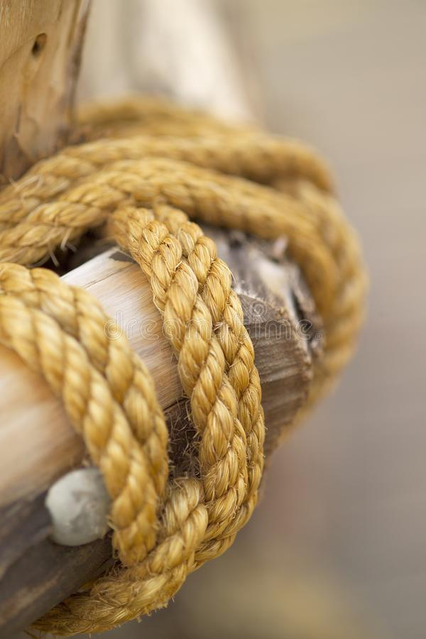 Download Rope stock image. Image of closeup, pole, tight, hold - 25131303