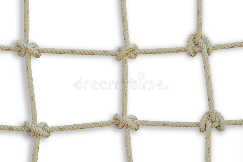 Rope against isolated on white background. File contains a clipping path stock images